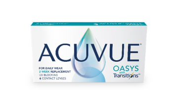 ACUVUE® OASYS with Transitions™️ Light Intelligent Technology™️